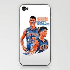 Jeremy Lin: New York, New York, Big City of Dreams. iPhone & iPod Skin