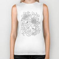 tangled Biker Tanks featuring Tangled by JesusGun