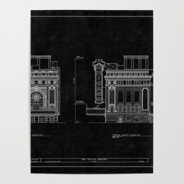 Chicago Theatre Blueprint 4 Poster