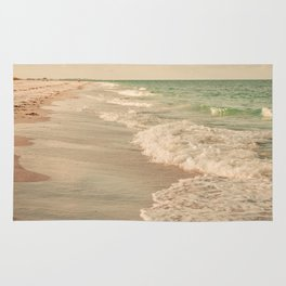 Tropical Beach Love Rug