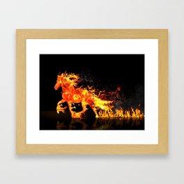 JAGGER Framed Art Print
