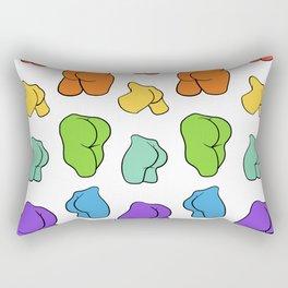 Give a Butt Rectangular Pillow