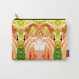 Flamingo illustration versus illustrated flamingo Carry-All Pouch