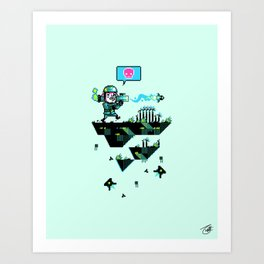 Major Jolt Art Print