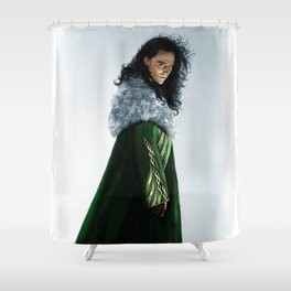 Loki - There Are No Men Like Me XIX Version II Shower Curtain