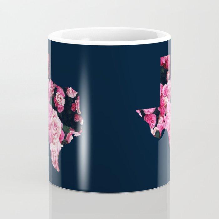 Pink Texas Roses Coffee Mug