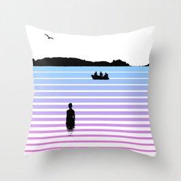 Island Moment 2 Throw Pillow