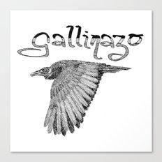 Gallinazo Canvas Print