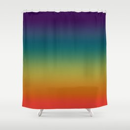 Prism Rainbow 2017 Shower Curtain
