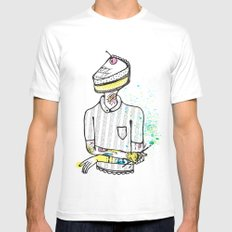 Sweet Tooth White Mens Fitted Tee MEDIUM