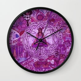 """""""The inevitable enlightening yet illusive expansion of the mind; and the peacefully humbling unknown Wall Clock"""