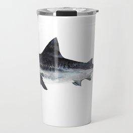 Tiger Shark (Galeocerdo cuvier) Travel Mug