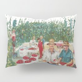 Tomato Growers,Australia             by Kay Lipton Pillow Sham