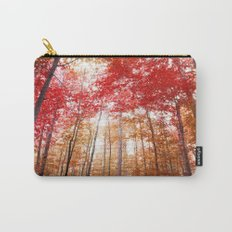 Red and Gold Carry-All Pouch