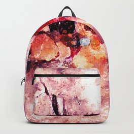 Colorful Minimalist Art / Abstract Painting Backpack