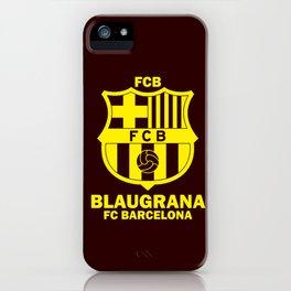 Slogan Barcelona iPhone Case