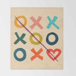 xoxo Love Throw Blanket