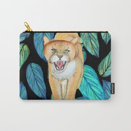 Wild Lioness prowling Carry-All Pouch
