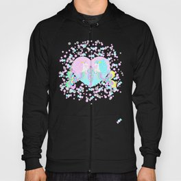 Mermicorn Twins Candy and Bubbles Hoody
