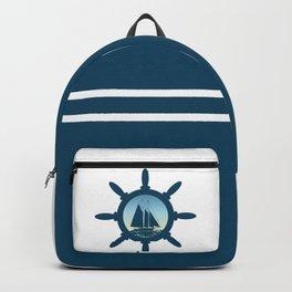 Sailing scene Backpack