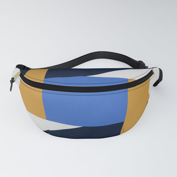 Abstract Geometric Fanny Pack