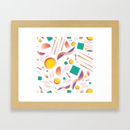 MIAMI SUBS MARTINI Framed Art Print