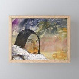 COLD Framed Mini Art Print