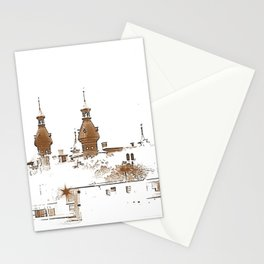 U of Tampa. Sepia. Stationery Cards
