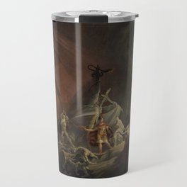 Aeneas and the Sibyl Travel Mug