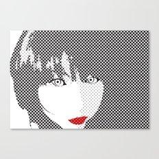 Lipsy Canvas Print