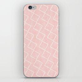 Tilting Diamonds in Pink iPhone Skin