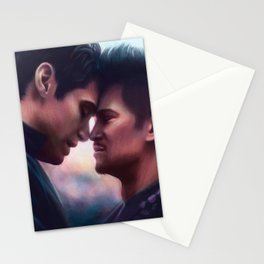 Lovers' Moment Stationery Cards