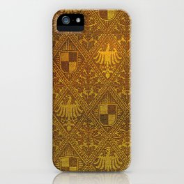 Prussian Tapestry 19th Century iPhone Case