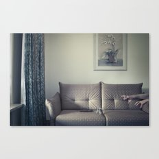 meanwhile, in a small Hotel... Canvas Print