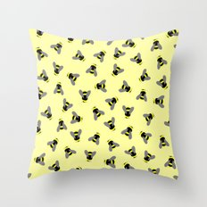 Scatterbees Throw Pillow