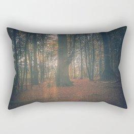 Hidden in the woods Rectangular Pillow