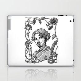 Gustavo Adolfo Bécquer  V. B&W Laptop & iPad Skin