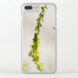 Badlands Wildflowers 2 Clear iPhone Case
