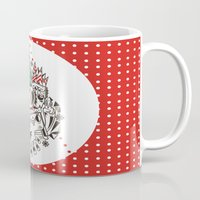 fez Mugs featuring Fez by Polypop