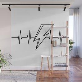 Bowie Heartbeat Wall Mural