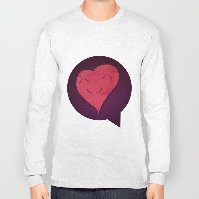 Pushing Love Like Pimps Long Sleeve T-shirt