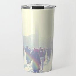 White İstanbul Travel Mug