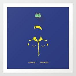 Guia Mayor - Master Guide Art Print