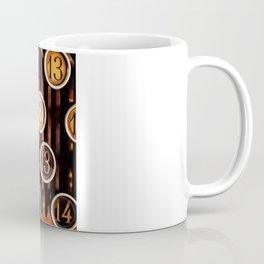 Vintage Numbers Coffee Mug