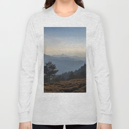 Blue dreams III. Misty mountains Long Sleeve T-shirt