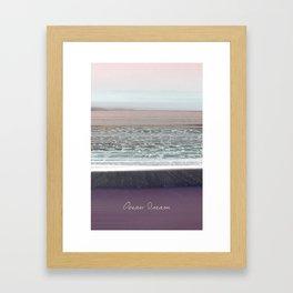 Ocean Dream II Framed Art Print