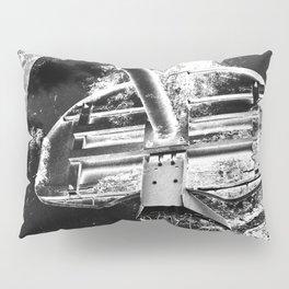 Black And White Basketball Art Pillow Sham