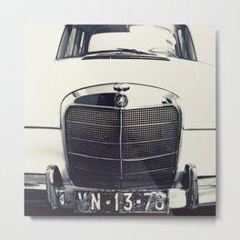 Benz Metal Print