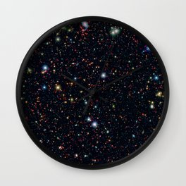 COSMOS Field Wall Clock