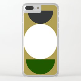 10   190507 Geometric Abstract Design Clear iPhone Case